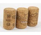 Винные пробки корковые 23*35 мм (Португалия агломирированная с лого PIE) 1500 шт