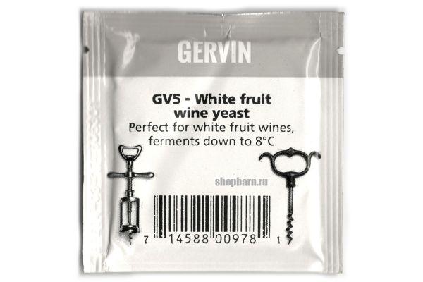 Винные дрожжи Gervin GV5 White Fruit Wine