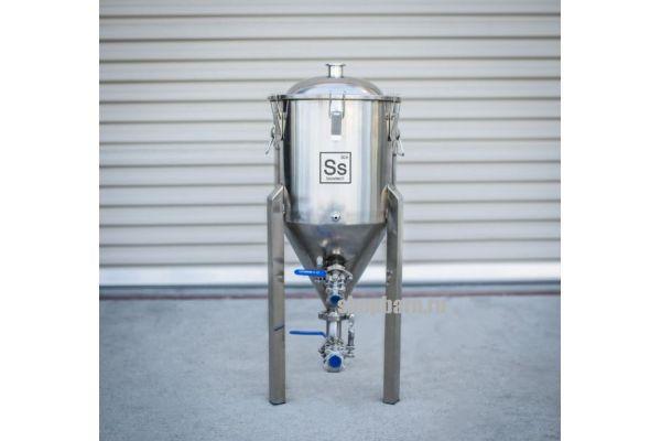 Конический стальной ферментер (ЦКТ) Ss BrewTech Chronical 17