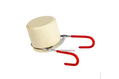 Устройство для закатки контрольного кольца алюминиевого колпачка 28-31,5
