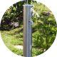 Садовая колонка для воды из нержавейки (Круглая)